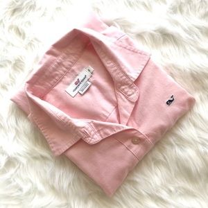 Vineyard Vines Pink Oxford Shirt